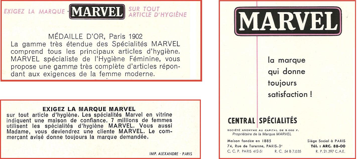 Marvel - Société
